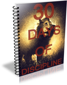 30 Days of Discipline course