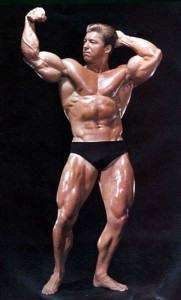 Mr. Olympia Larry Scott