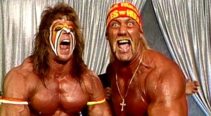 Warrior And Hulk Hogan