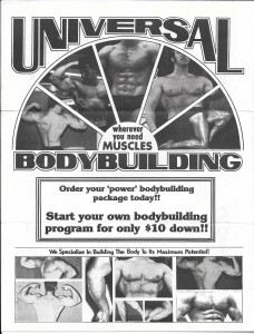 Who is Morrie Mitchell and Universal Bodybuilding? â