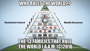 THE NEW PYRAMID AND THE 13 FAMILIES THAT CONTROL THE WORLD