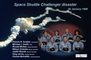 Space shuttle Challenger disaster – 1986